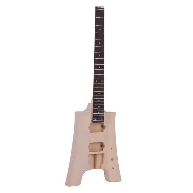 ammoon DIY E-Gitarren-Kit ohne Kopfplatte