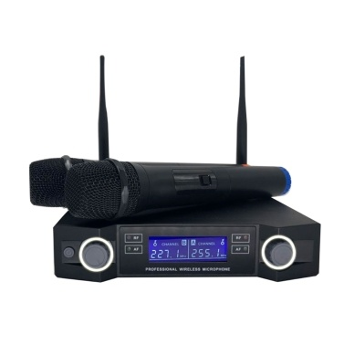 Wireless Microphone Digital Display Mic System Set