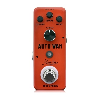 Rowin Digital Auto Wah Guitar Effect Pedal True Bypass