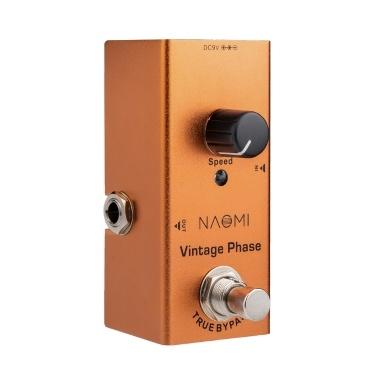 NAOMI NEP-06 Vintage Phase Gitarreneffektpedal Mini Single Pedal