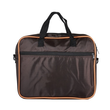 ammoon Compact Travel Flat Box Drum Carry Bag Handbag Flat Hand Drum Case with Shoulder Strap