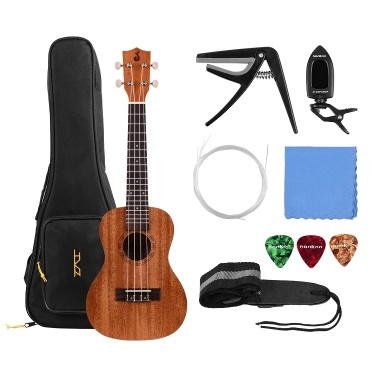 23 Inch Acoustic Concert Ukulele