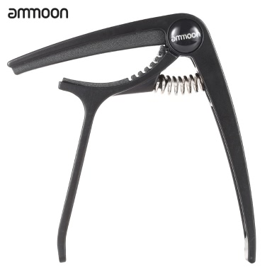 ammoon Aluminum Alloy Quick Change Clamp Key Tuner Trigger Capo Universal Acoustic Classical Electric Guitar Ukulele Bass