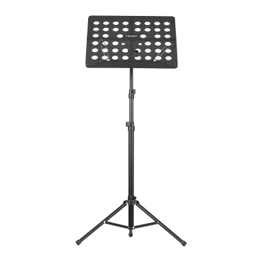 Flanger FL-05R Collapsible Sheet Music Score Tripod Stand Holder Bracket Aluminum Alloy Water-resistant Carry Bag Orchestra Violin Piano Guitar Instrument Performance