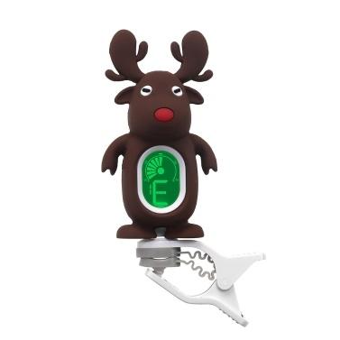 Cute Cartoon Reindeer Clip-On Tuner