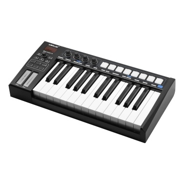 WORLDE Blue whale 25 Portable USB MIDI Controller Keyboard