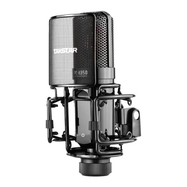 TAKSTAR PC-K850 Side-Address Recording Microphone Cardioid Pickup Pattern Wired Condenser Mic