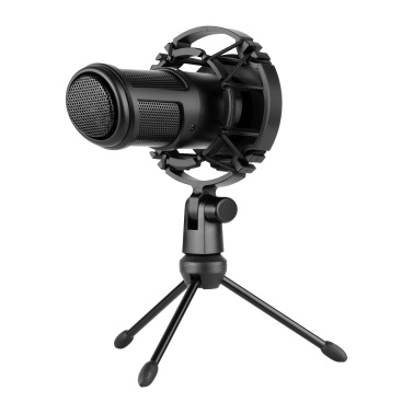 TAKSTAR PC-K320 Side-address Microphone Wired Condenser Mic Cardioid Pickup Pattern with Shock Mount and Tripod