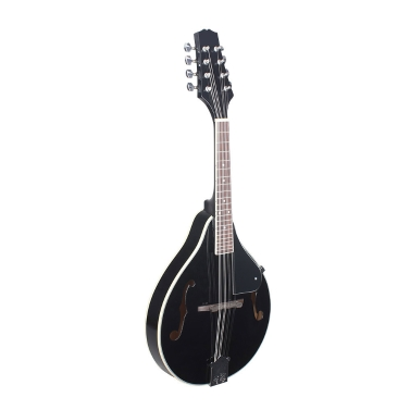 Mandolin Basswood Body Rosewood Fingerboard Steel String A-style Musical Instrument Adjustable Bridge Black