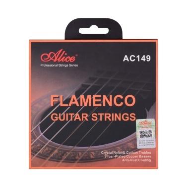 Alice AC149-H Classical Guitar Strings Crystal Nylon & Carbon (G) Guitar String Set