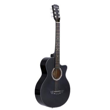 """38"""" acoustique 6 cordes guitare Folk pour cadeau d"""