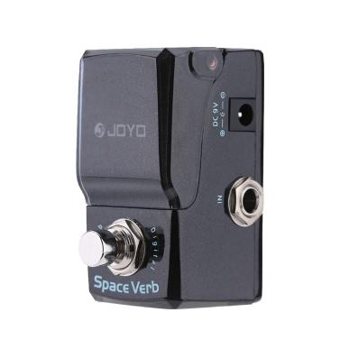 JOYO JF-317 Space Verb Digital Reverb Mini e-Gitarre Effekt Pedal mit Drehknopf Guard True Bypass
