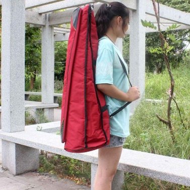 600D Water-resistant Trombone Gig Bag Oxford Cloth Backpack Adjustable Shoulder Straps Pocket 5mm Cotton Padded for Alto/Tenor Trombone