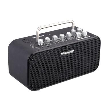 Aroma TM-10 10W Electric Guitar Amp Amplifier Loudspeaker Speaker Built-in Tuner Tap Function Effect Volume Tone Control