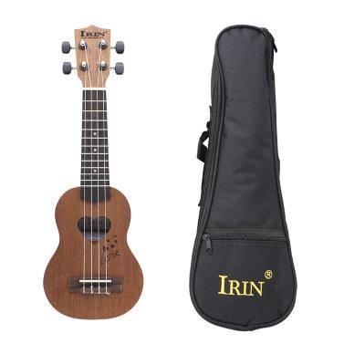 17u201d Mini Ukelele Ukulele Spruce/Sapele Top Rosewood Fretboard Stringed Instrument 4 Strings Gig Bag