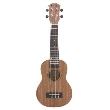 21u201d Mini Ukelele Ukulele Sapele Rosewood Fretboard Stringed Instrument 4 Strings