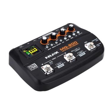 NUX MG-200 Guitar Modeling Processor Guitar Multi-effects Processor 55 Effect Models
