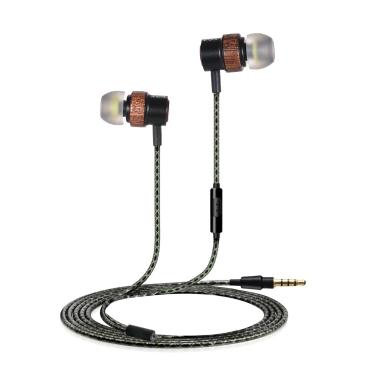 Premium In-Ear Earbuds Wired Earphones,free shipping $6.33(code:EARMP3)