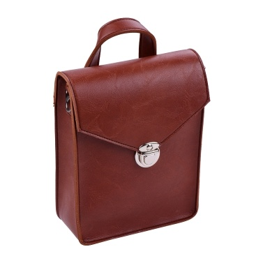 Portable Kalimba Storage Bag Microfiber Leather Multi-Functional Soft Case Bag