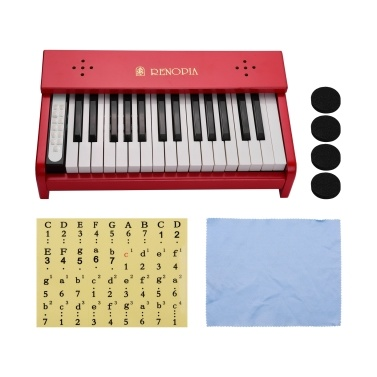 Kids Musical Piano 30 Keys Wooden Learn To Play Piano Musical Instrument Toy for Boys Girls