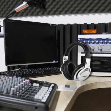 TAKSTAR PRO 82 Professional Studio Dynamic Monitor Headphone Headset Over-ear with Aluminum Alloy Case