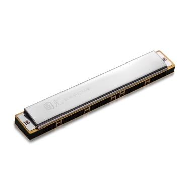 28-Loch-Mundharmonika-Schlüssel von C Tremolo Harmonica Mouthorgan