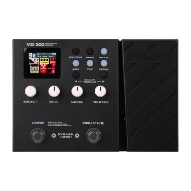 NUX MG-300 Modeling Guitar Processor Guitar Multi-Effects Pedal
