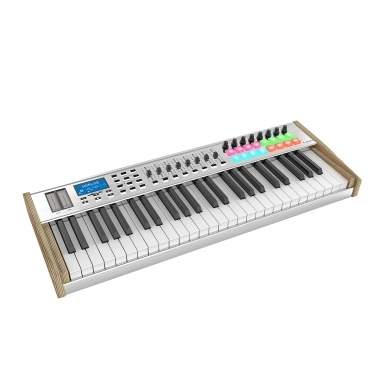WORLDE P-49 Pro 49-Key USB MIDI Keyboard Controller LCD Display