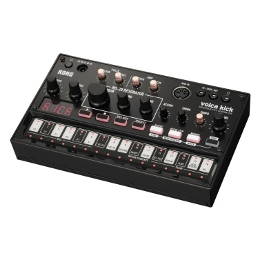 KORG VOLCA KICK Analog Kick Generator Bass Percussion Active Step Synthesizer Sequencer with Playback MIDI IN