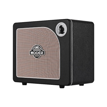 MOOER HORNET BLACK 15 Watt Digital Modeling Combo Guitar Amplifier Speaker 9 Amp Models Built-in Modulation Delay Reverb Effects Guitar Tuner Live/Preset Modes BT Connection AUX IN