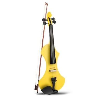 ammoon 4/4 Full Size Electronic Solid Wood Violin