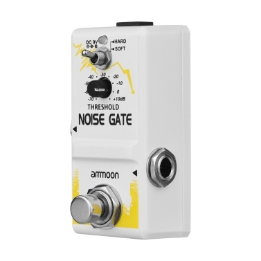ammoon Single Noise Gate Guitar Effect Pedal True Bypass Zinc Alloy Shell