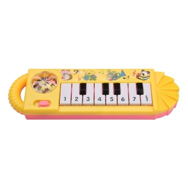 Muslady Mini 8-Key Electronic Piano Toy for Children Early Musical Education