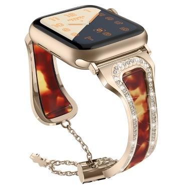 Metall Edelstahl Resin Wrist Strap Armband