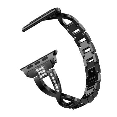 Für Armbanduhren 1 2 3 4 5 Universal Diamond Edelstahlarmband