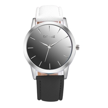 Mode Kontrastfarbe schöne Uhr