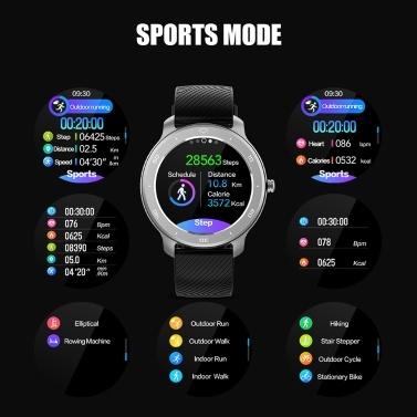 1,28 '' IP68 Wasserdichte Voll-Touchscreen-Smartwatch