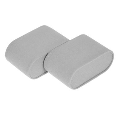 2PCS Soft Velvet Watch Bracelet Pillow Cushion for Watch Box Jewelry Display Storage Case