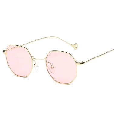 New Fashion Accessory UV400 Popular Small Pane Shape High Quality Unisex Plain Glass Spectacles