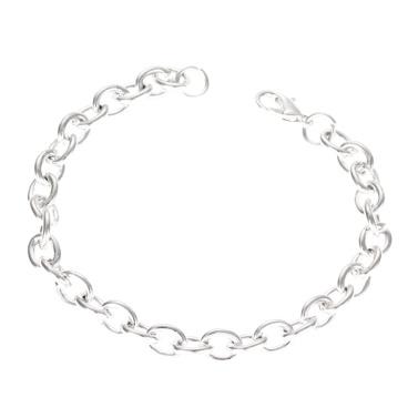 Mode Einfache Dicke Kette Armband Persönlichkeit Paar Liebhaber Schmuck für Männer Frauen