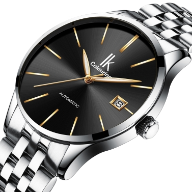 IKColouring Business Automatic Mechanical Watch Life Water-resistant Watch Men Wristwatch Male Calendar