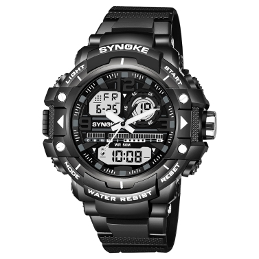 SYNOKE Sports Mode Hommes Montres