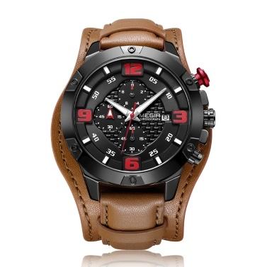 MEGIR 2099 Herrenuhr / Quarz Sport Einfache Armbanduhr