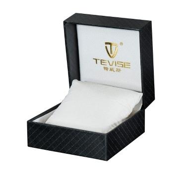 Tevise Luxury PU Leder Taschenuhr Geschenkbox Display Aufbewahrungskoffer