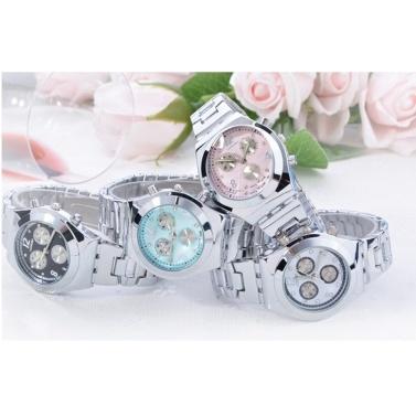 LONGBO Fashion Stainless Steel Watch Band Watch Lady Elegant Luxury Dress Wrist Watch Women Classic Quartz Watches