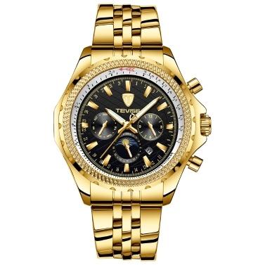 TEVISE T841B Marke Mode Herrenuhr Luxus Mechanische Selbstaufzug Automatische Armbanduhr Sport Leder / Edelstahl Optional Uhr Relogio Masculino für Geschenk