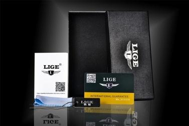 LIGE 1 stück Uhrenbox Halter Veranstalter-schmuck Uhr Armband Ring Halskette Geschenkboxen