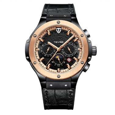 TEVISE T828A Business Men Automatic Mechanical Watch