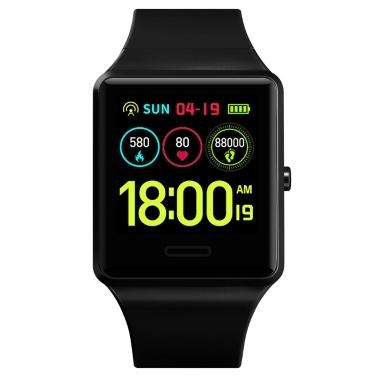 SKMEI 1526 Smart Watch BT 4.0 Herzfrequenz Blutdruck Blutsauerstoff Schlafüberwachung Smart Timer