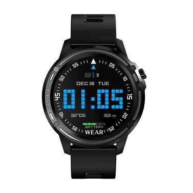 Microwear L8 IP68 Wasserdichte Smartwatch mit 1,2-Zoll-240 * 240-Pixel-Bildschirm